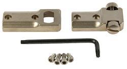 Scope Mount Base, 2 Pc, Standard, Silver w/Screws & Wrench, New Leupold