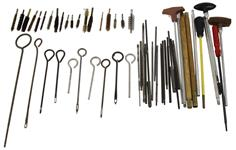 Cleaning Rod Accessory Grab Bag, 35 Pc, Random Selection of Rods, Segments, Brushes