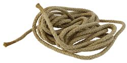 "Rope, From Danish Civil Defense Engineer Tool Set, 1/4"" Dia, Used"