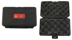 Gun Case, Black Plastic, Marked Llama Micro Max, Used Factory