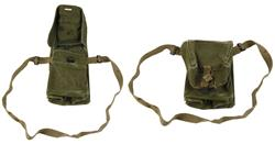 Gas Mask Carry Bag, Danish MKII, Canvas, Used