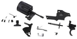Parts Kit w/o Barrel, Frame or Grips, .38 Special, Matte Black,Used Factory