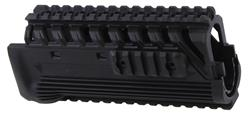 Handguard, Combat, Quad Rail, Black Polymer, Used Fab Defense