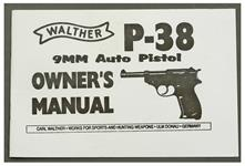 Walther P38 Owners Manual