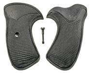 Grips, 2 Pc., Round Butt, Pachmayr Presentation/Compac, Closed Backstrap, Exc
