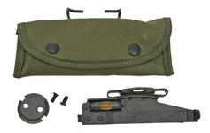 M15 Grenade Launcher Sight & Mount Plate In Canvas Pouch, New