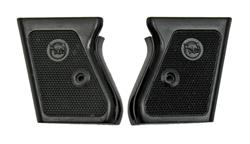 Grip Plates, Left & Right w/Round Owl Logo