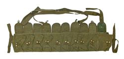Chest Pouch w/ 10 Pockets, 1-1/8