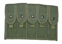 5 Pocket Pouch (Holds 20 Round Magazines)