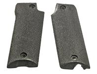 Grips, 9mm Luger, Black Plastic, Replacement