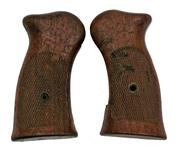Grips, H&R, Checkered Walnut (See photo on website)