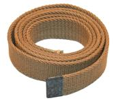"Belt, Canvas-US Surplus Khaki Colored Belt w/o Buckle, 1'' Wide x 41"" Long."