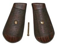 Grips, 1896, Walnut Military - w/o Red 9, Includes Escutcheons & Screw