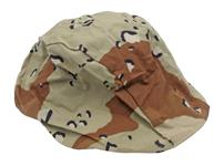 Helmet Cover For GI Kevlar Helmets, Desert Pattern-Size Med/Lg, New Mil Surplus
