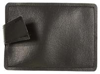 "Sandbag For Shooting Rest, Black Leather, 5-1/2"" x 6-1/2"", New Factory Original"