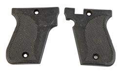 Grips, Pair, Checkered Plastic