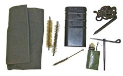Cleaning Kit, Compact - Fits .30 Cal. & Larger. Incl 36'' Nylon Pull-Thru Punch