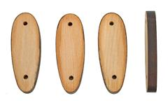 """Stock Spacers, Wooden, 4 Pk-Measures Approx. 4-3/4'' L x 1-5/8'' W x 1/2"""" Thick."""