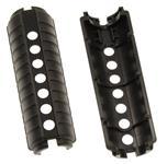 Handguard, Black Plastic, w/o Heat Shield - Very Good Condition, Pair