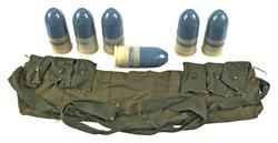 40MM Dummy Grenade & Bandoleer Set