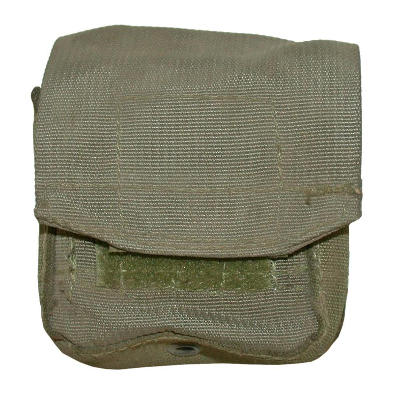 Case, Compact, Nylon (Israeli Surplus Olive Drab Case w/ Belt Hooks)