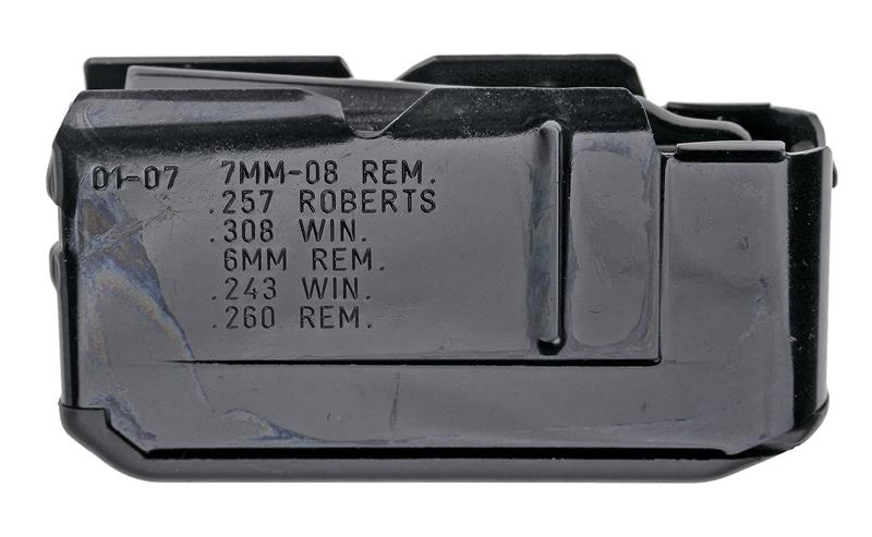 Magazine, .243 & .308 Cal., 4 Shot, NS, Matte Finish (w/ Plastic Floorplate)