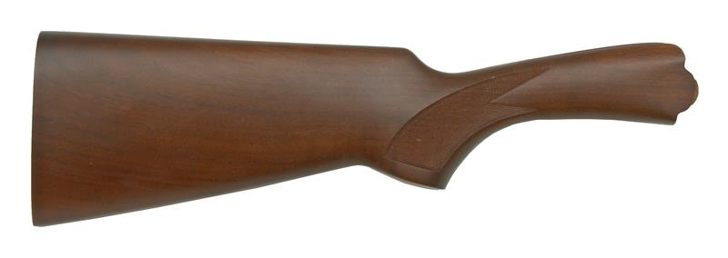 Stock, 12 Ga., RH, 35-55 Drop, Sporting, Checkered Walnut, Satin Finish w/o Pad
