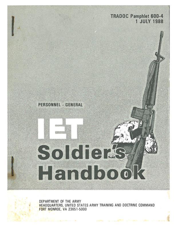 IET Soldier's Handbook
