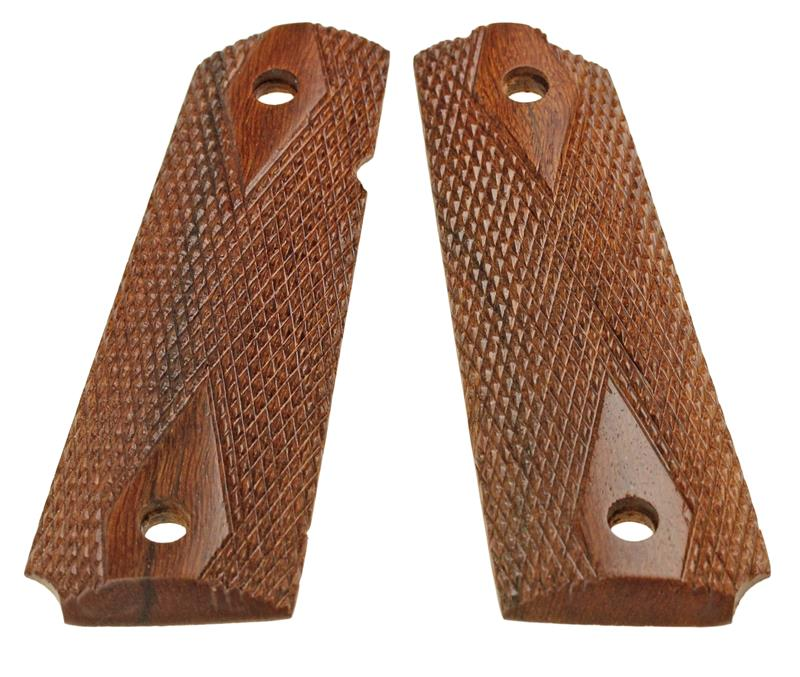Grips, Checkered Walnut (Full-Size)