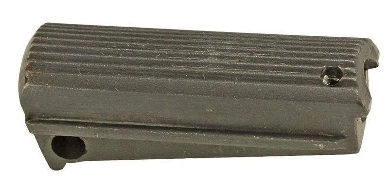 Mainspring Housing, Stripped, Blued, Compact (Serrated)