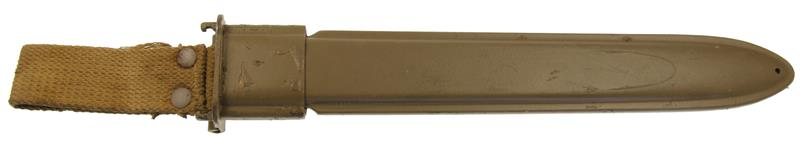 Scabbard w/ Belt Hanger, Italian (For M1 Garand 10