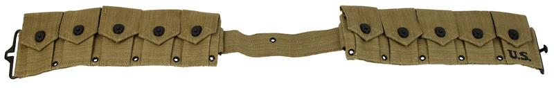 Cartridge Belt, 10 Pocket, New Reproduction