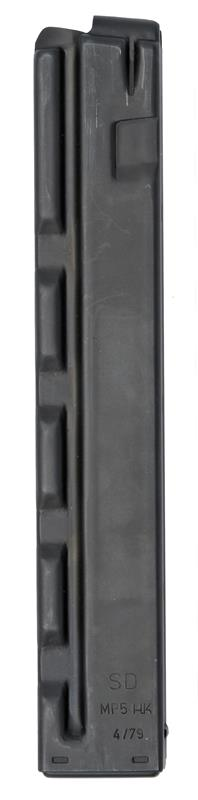 Magazine, 9mm, 30 Round, Blued, New (Straight; w/ Markings; Factory)