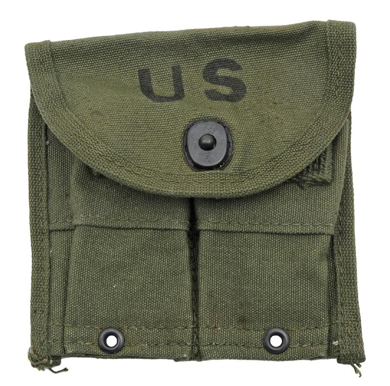 Magazine Pouch (Belt), Original Post WWII, New (Marked Rainer-Bell Co.)