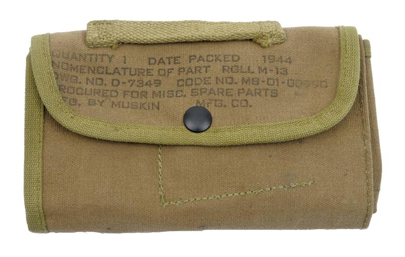 Spare Parts Roll, M-13, WWII, Dated 1944, Marked Muskin Mfg. Inc., Unissued