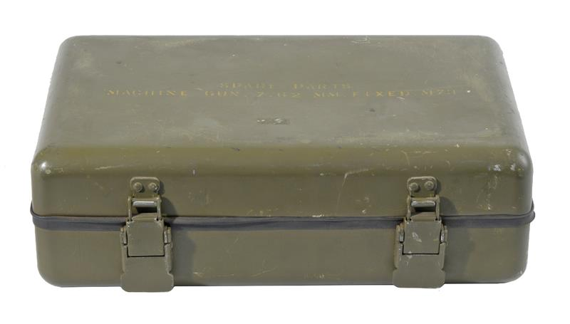 Spare Parts Box, M73 7.62mm(.308) Fixed MG, Used, Good Cond.