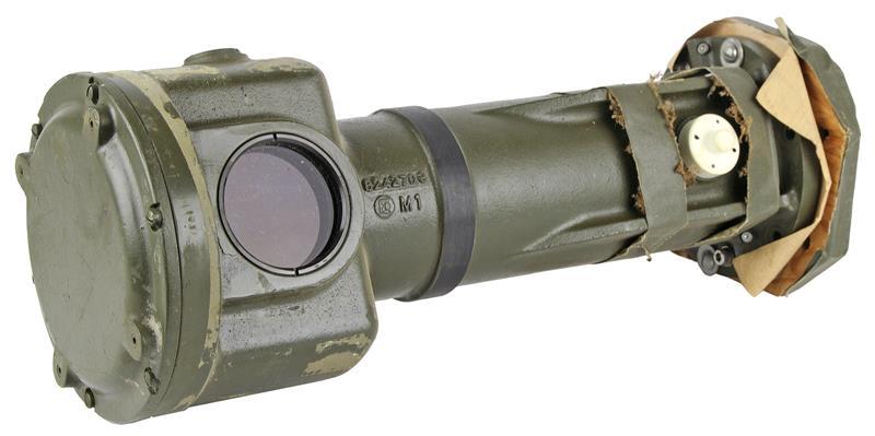End Hsing, Tank Mnt M24 Range Finder, New w/Broken Pcs of Mirror/Prisms Inside