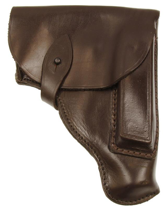 Holster, Leather, Dark Reddish Brown, Bulgarian, Very Good - Excellent Condition