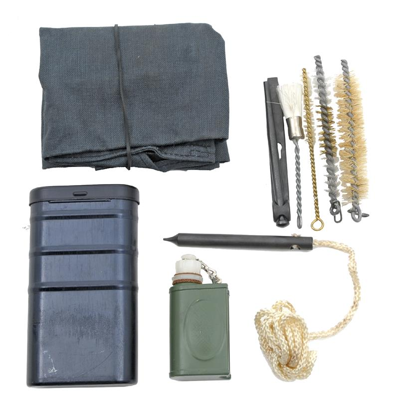 Cleaning Kit, w/ Canvas Tie Pouch, RG-57, Used - Very Good to Excellent