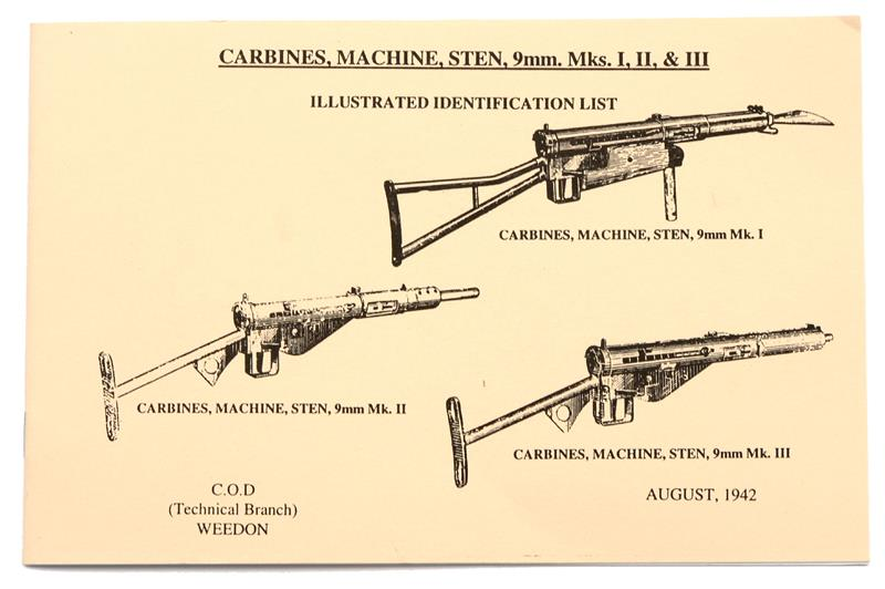 Mkiii schematic numrich manual sten machine carbines 9mm mks i ii iii soft cover bw 23 pages maxwellsz
