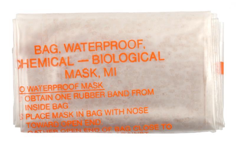 M17, M17A1 Gas Mask Bag, Waterproof