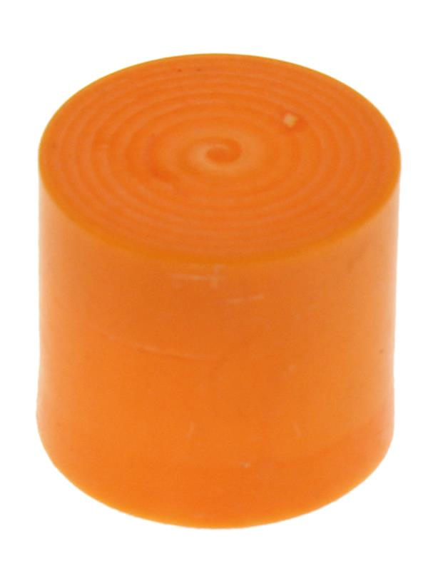 Muzzle Cap, Plastic, Hi-Visibility Orange, Fits Muzzles .560