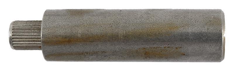 Barrel Blank w/ Serrated Press-In Shank, Starter Pistol, In the White