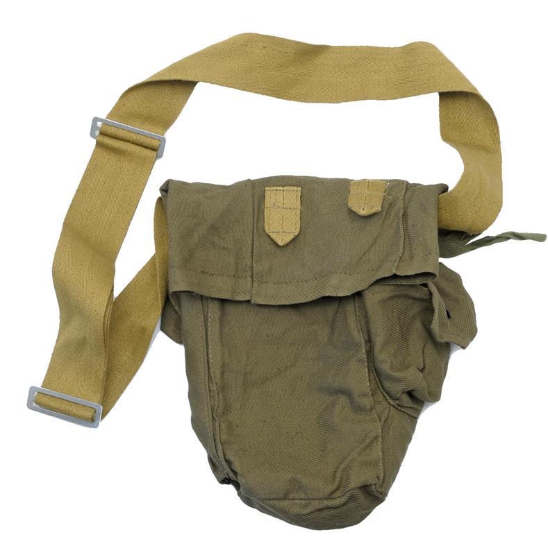 Carry Bag w/ Shoulder Strap & Side Pkts, For Russian GP-5 Civilian NBC Gas Mask