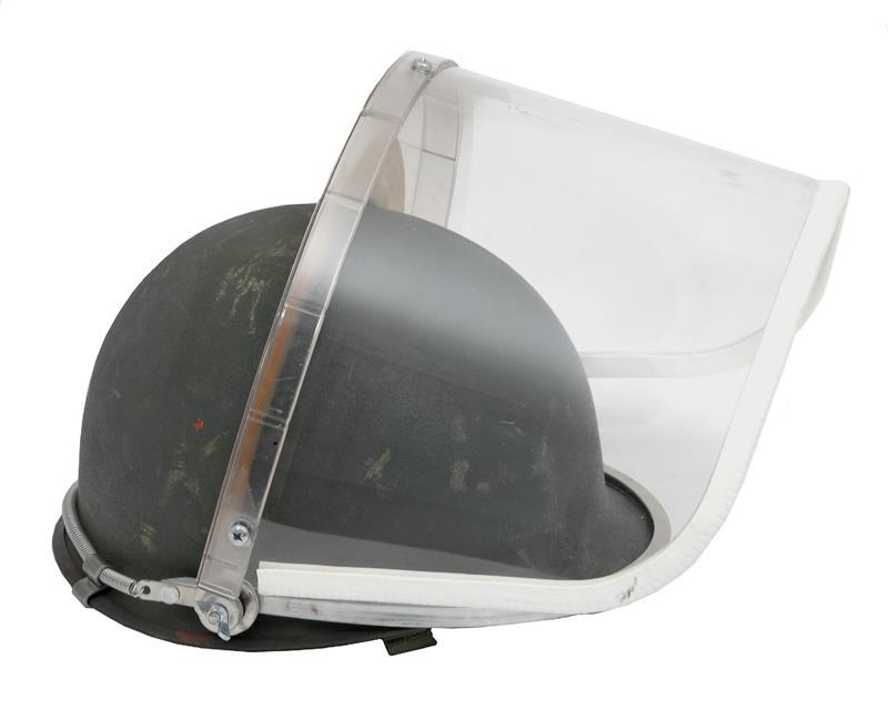 Riot Face Shield, Unissued, Fits U.S. M1 Steel Helmets