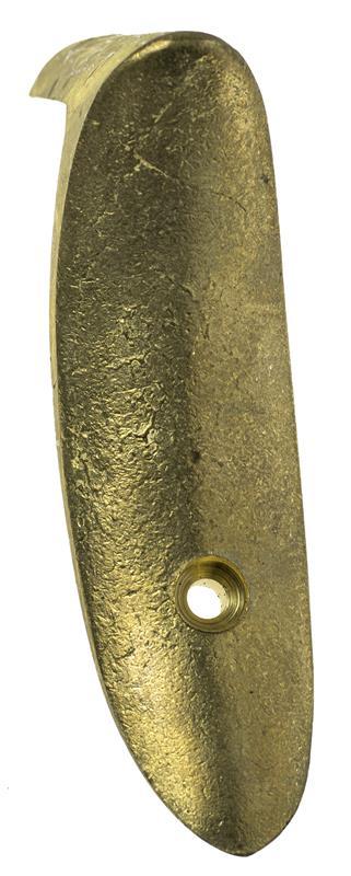 Buttplate, Unfinished Brass (Rifle)