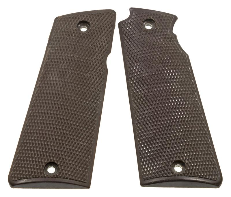 Grips, Brown Plastic