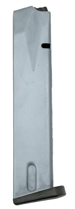 Magazine, 9mm, 20 Round, Nickel, New (U.S.A. Brand)