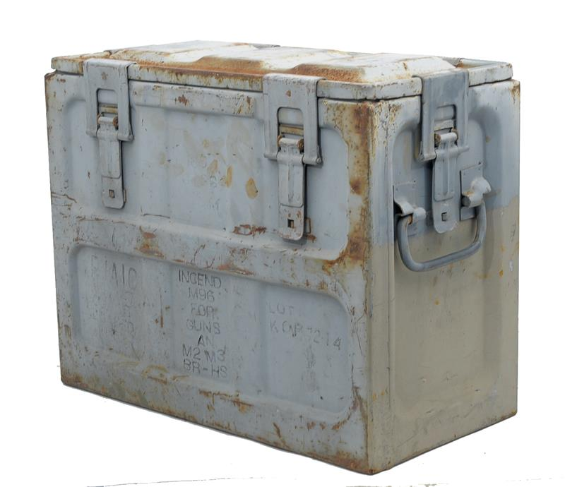 Small Arms Ammo Box, U.S. Navy, Used