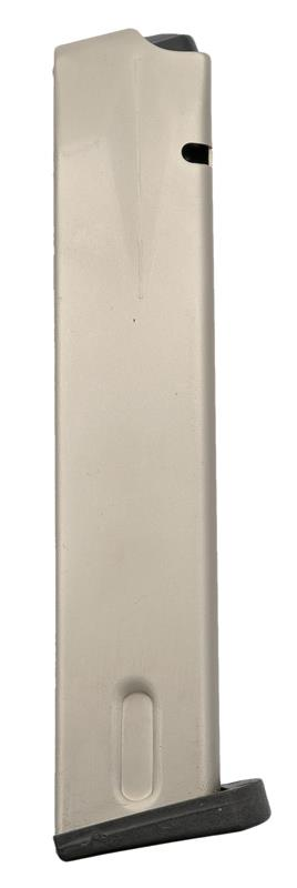 Magazine, 9mm, 20 Round, Nickel, New (Made by U.S.A.)